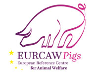 Logo of the EU Reference Centre for Animal Welfare Pigs (EURCAW Pigs)